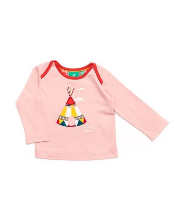 T-shirt manica lunga bambina