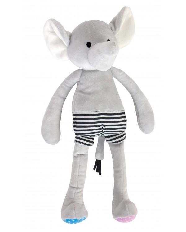 Peluche elefante Velluto