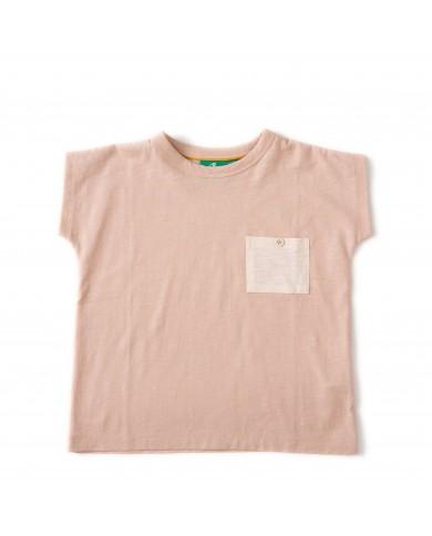 T-shirt Bambina Rosa