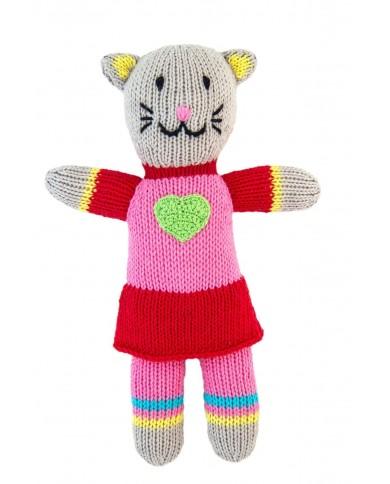 Peluche Crochet gattina
