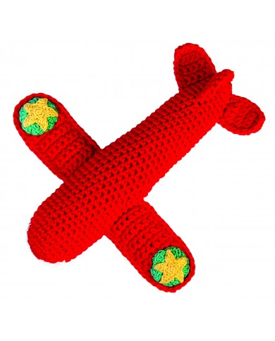 Sonaglio aereoplano crochet