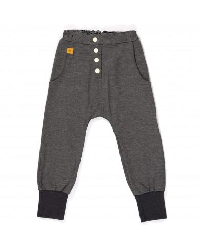 Pantaloni Bambino melange