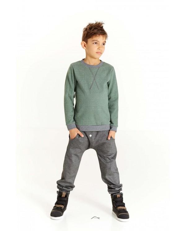 Pantaloni Bambino felpati