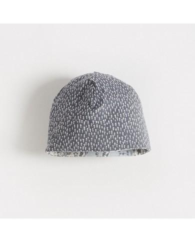 Cappellino reversibile con stampa