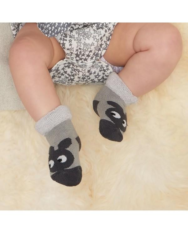 Calzini neonato coniglietto