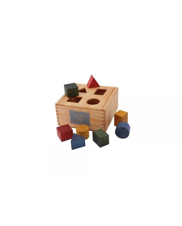 Puzzle delle forme legno