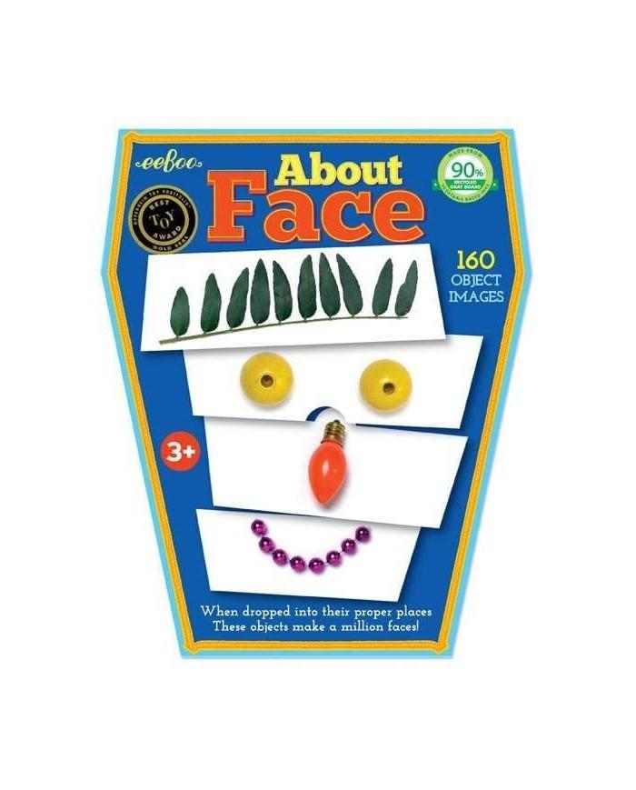 Image of Puzzle Facce Con 160 Oggetti Eeboo