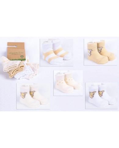 Set 5 Calze cotone organico