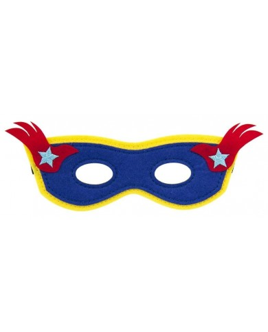 Maschere in feltro Super eroi
