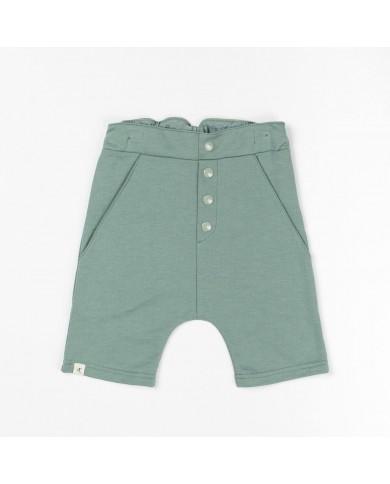 Shorts bambino verde AlbaBaby