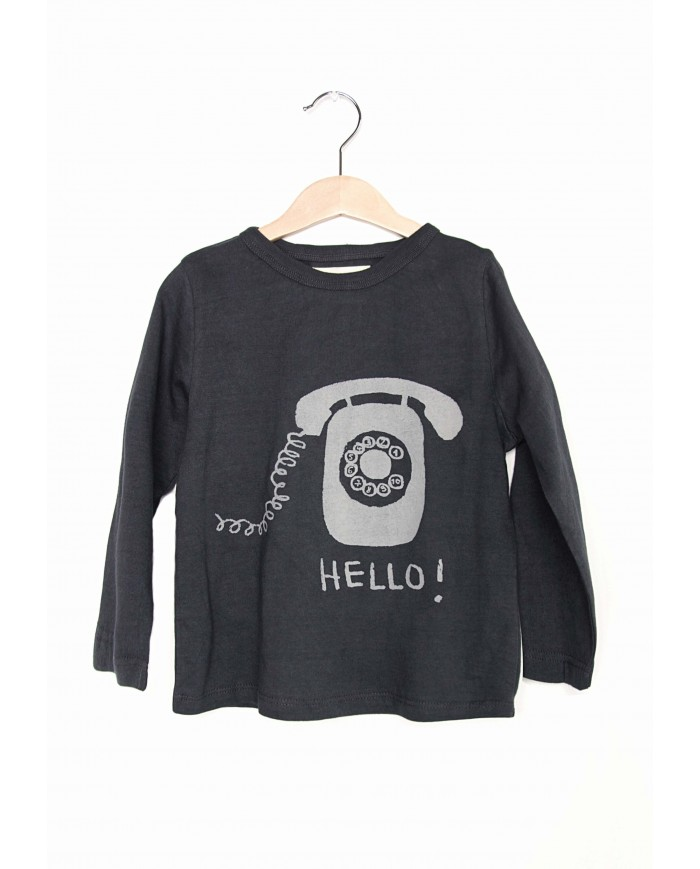 "T-shirt Maniche Lunghe ""HELLO"""