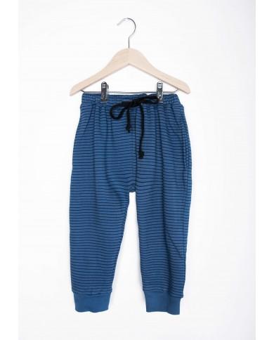 Pantaloni strisce Blu