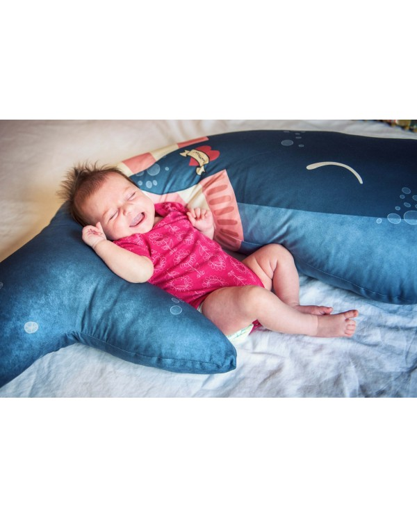 Cuscino Gravidanza-Allattamento Balena