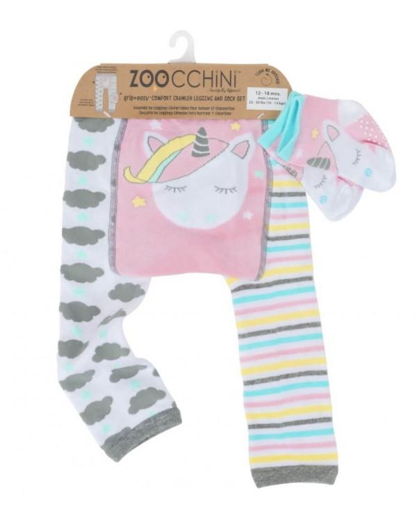 Set Leggings - Calzini antiscivolo Unicorno