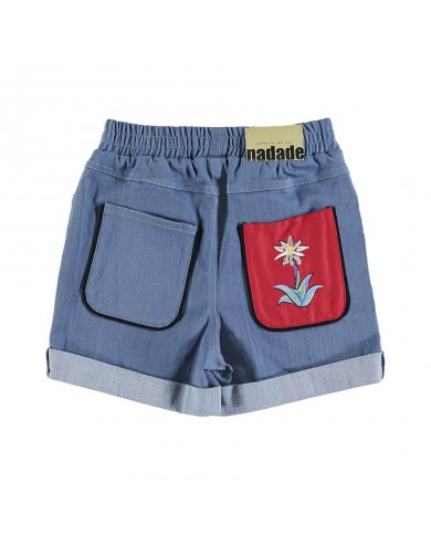Shorts Bambina cotone...