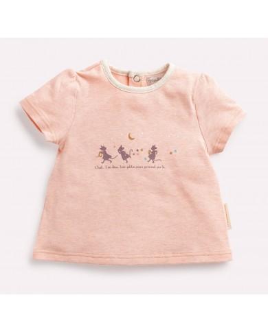 T-shirt bambina Moulin Roty