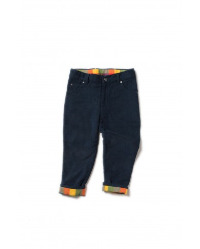Pantaloni velluto navy...