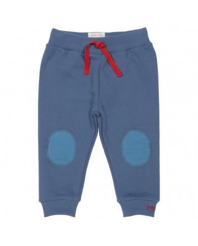 Pantaloni felpa con toppe...