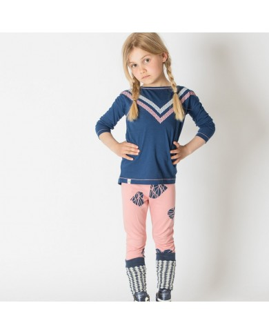 Leggings Bambina Rosa con...