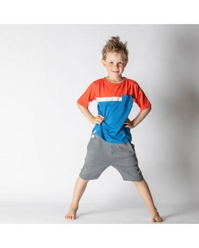 Shorts bambino grigio...