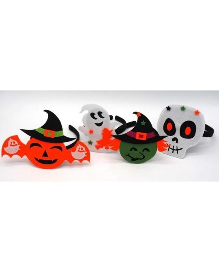 Image of Cerchietto Con Figura Halloween Teschio