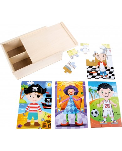 Box Puzzle 4 in 1 Small...