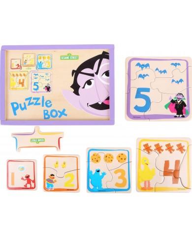 Puzzle in scatola Sesame...
