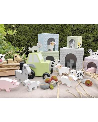 Camion con animali della...