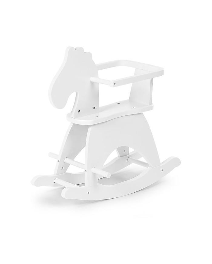 Image of Giochi Per Bambini Cavallo A Dondolo Bianco - Childhome