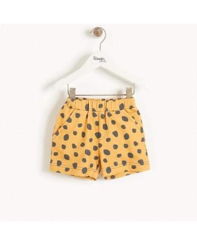 Shorts Stampa Leopardo -...