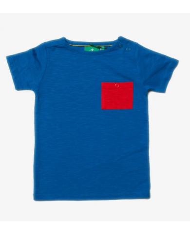 T-shirt blu elettrico...