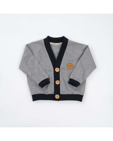 Cardigan jeans in cotone...