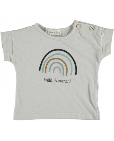 T-shirt Unisex arcobaleno...