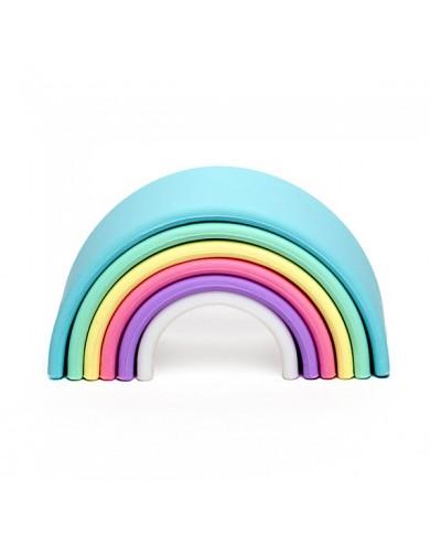 Arcobaleno pastello in...