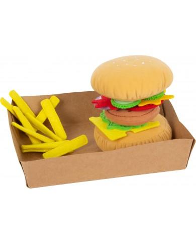 Hamburger di stoffa con...