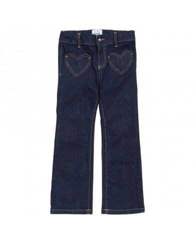 Jeans bambina cotone...