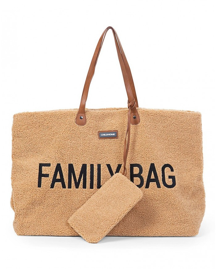 Image of Family Bag - Borsa Weekend - Teddy Beige Childhome