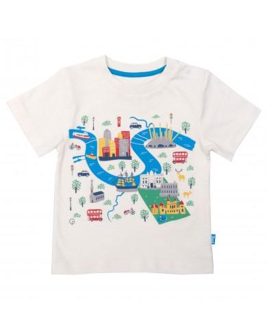 T-shirt Greenwich cotone...