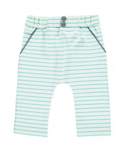 Pantaloni righe cotone