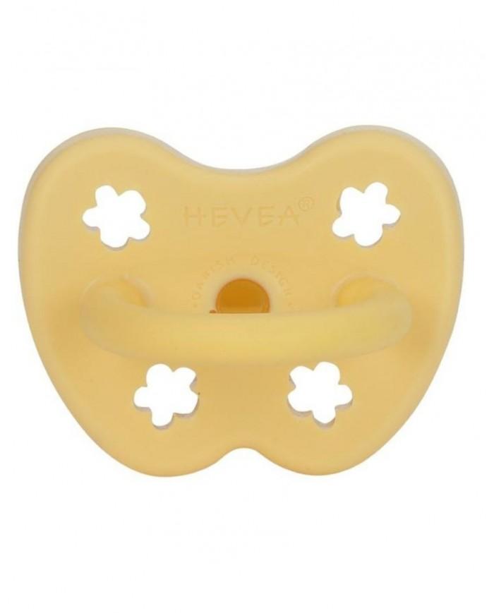 Image of Ciuccio Ortodontico 3-36 Mesi Giallo Banana Hevea