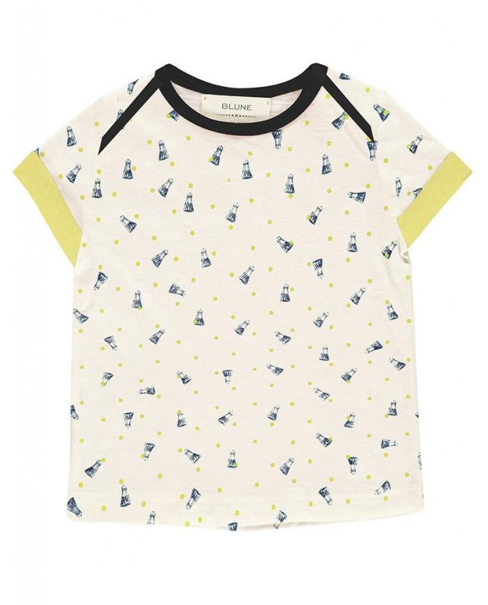 T-shirt cotone neonato