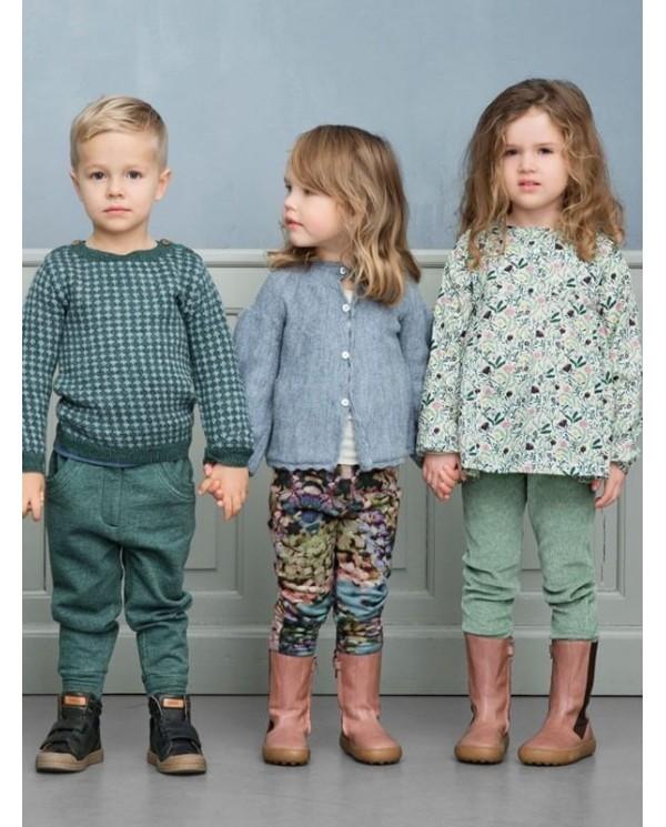 Leggings floreali Bambina