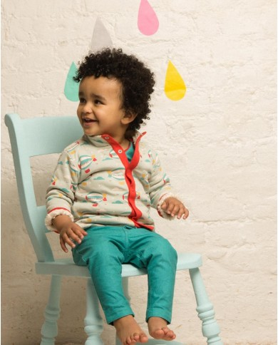Jeans cotone Little Green Radicals